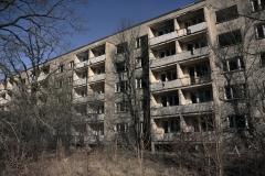 Verlassene Wohnblocks
